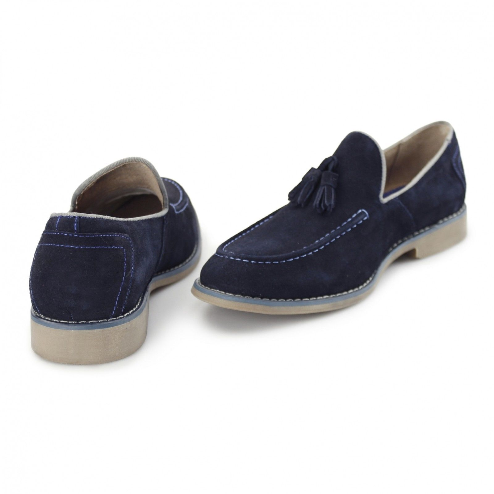 Men's Front Suede Loafers
